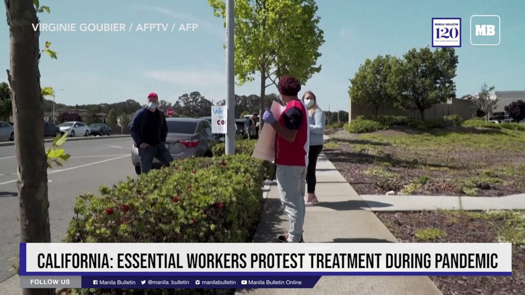 California: Essential workers protest treatment during pandemic