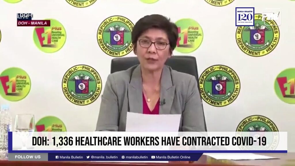 DOH: 1,336 healthcare workers have contracted COVID-19