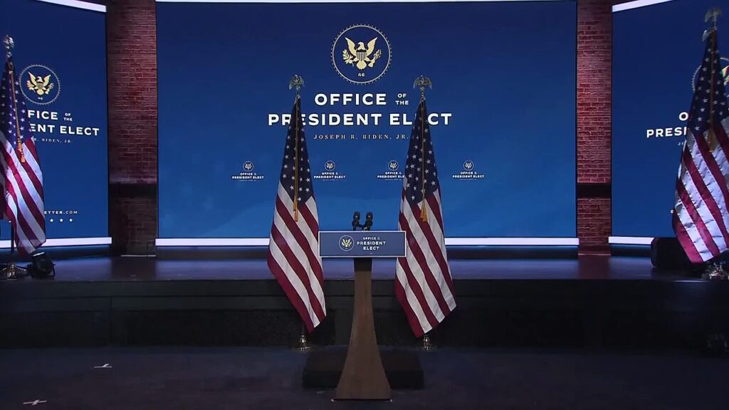 Live- Biden & Harris discuss curbing US Covid-19 with governors plan