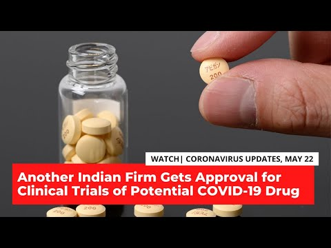 COVID-19 Updates | Another Indian Firm Gets Approval for Trials of Potential COVID-19 Drug