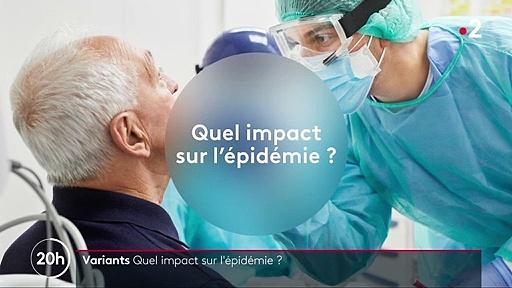 Covid-19 : quel est l'impact des variants sur l'épidémie ?